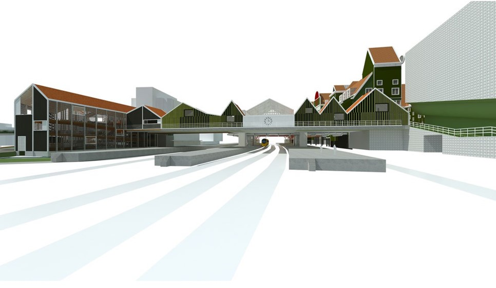 Construsoftbimawards - Zaandam Spooroverbouwing