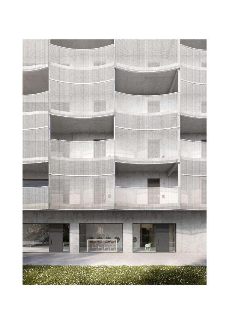 construsoftbimawards - Multi-family building located in Stockholm, Racstavagen
