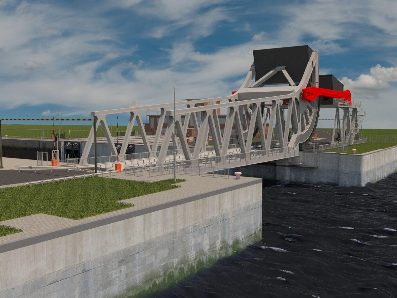 construsoftbimawards - Vervanging bestaande Boudewijnbrug