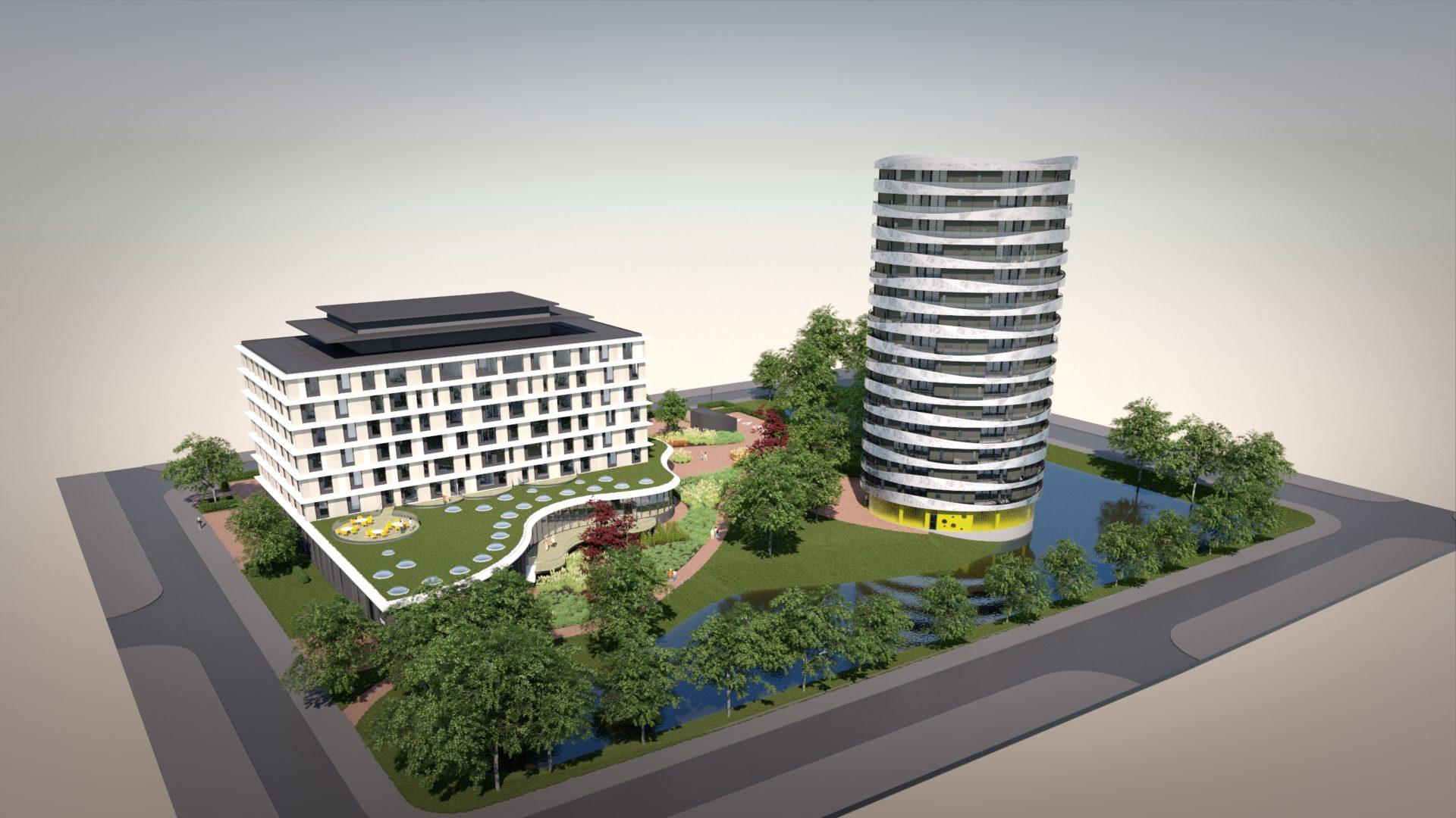construsoftbimawards - Woontoren Selwerd Groningen